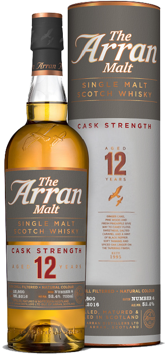 Arran12yo Cask st batch6