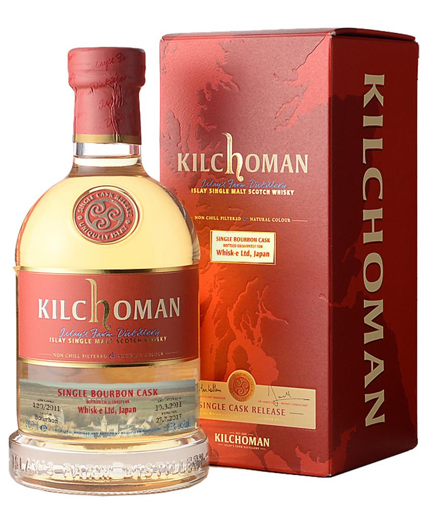 Kilchoman2011 Bourbon #120